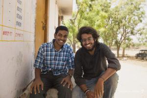 Rajesh, TTIS Reporter & Aakash Piplani, coordinator of new Raag class