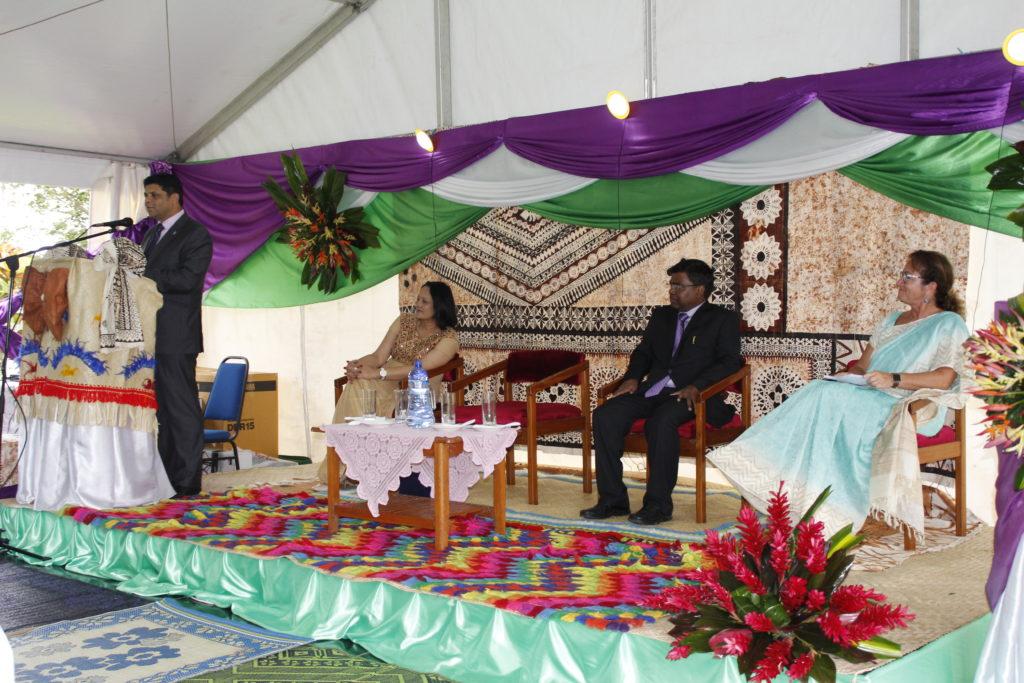Fiji speech Rosy Sofia Akbarthe Aiyaz Sayed-Khaiyum H.E Vishvas Sapkal
