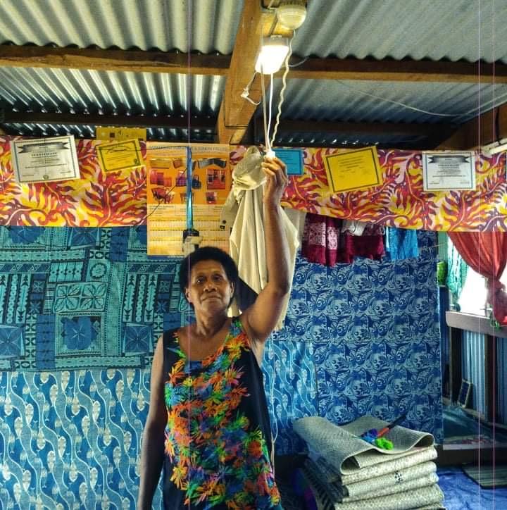Pacific Islands solar mama women empowerment renewable